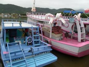das rosane Boot wuensch ich mir zum Geburtstag!