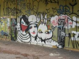 Sao Paulo...die Graffitis sprengen meine Memory Card!!!